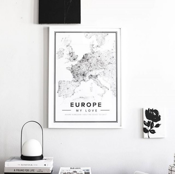 Mapiful Custom Map Poster - Best Wedding Gift Ideas