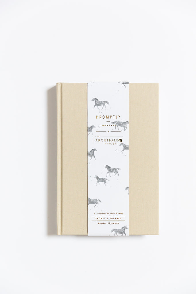 Promptly Journals x The Archibald Project Adoption Journal