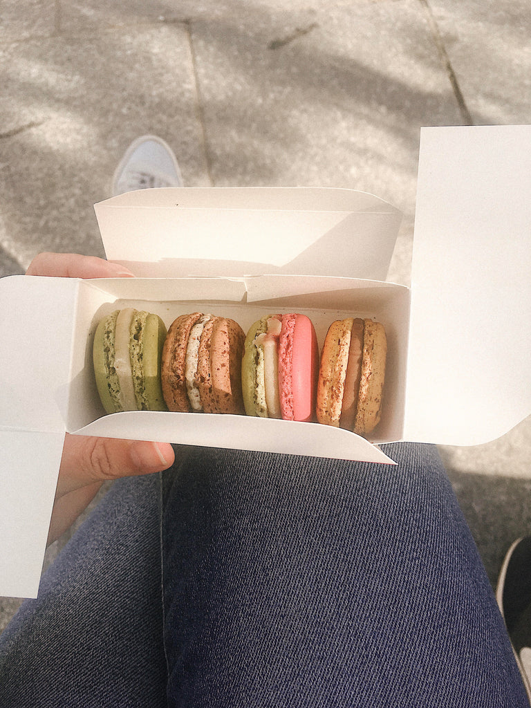 Best romantic things to do in Paris, the ultimate Paris travel guide, featured on Promptly Journals and written by Tessa Woolf: indulge in macarons