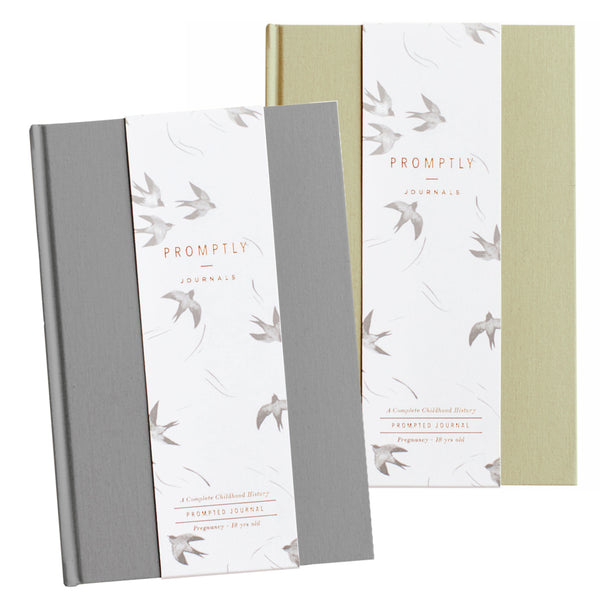 Childhood History - Grey +Sage Green BUNDLE