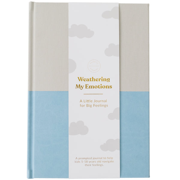 Emotions Journal - Fog-Sky Blue