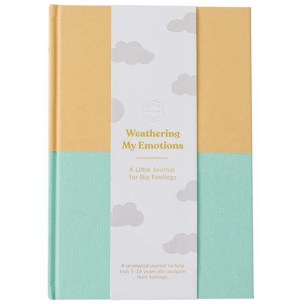 Emotions Journal - Ochre-Mint