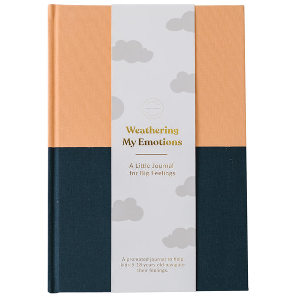 Emotions Journal - Tangerine-Navy