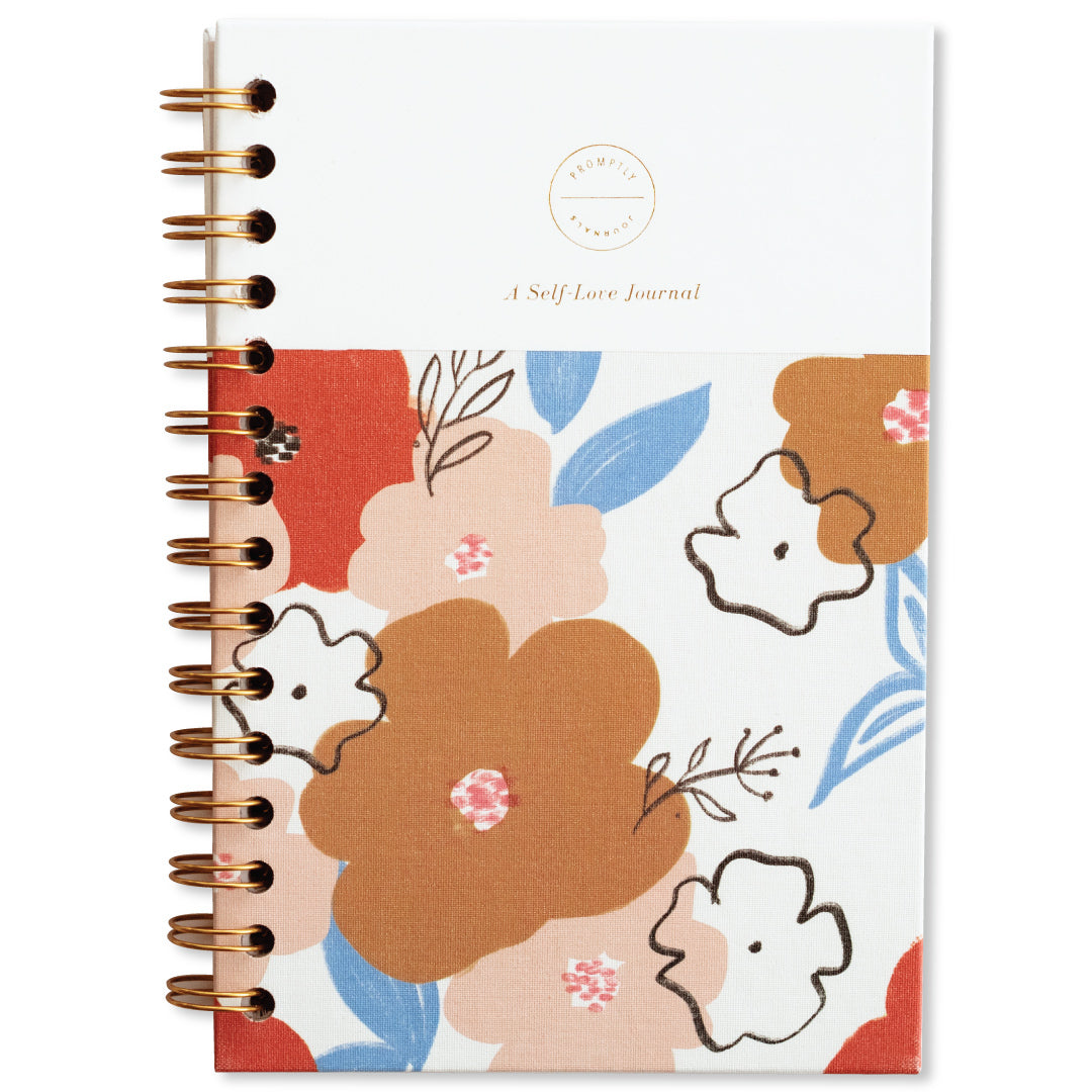 Promptly Journals - Self-Love Journal - Poppy