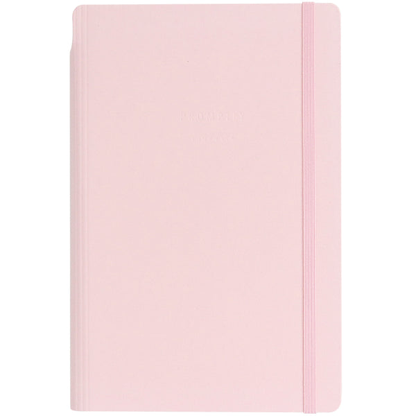 Anything Notebook - Blush Pink Leatherette