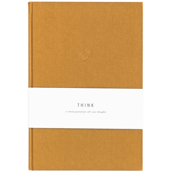 Blank Journal - Think Amber Linen