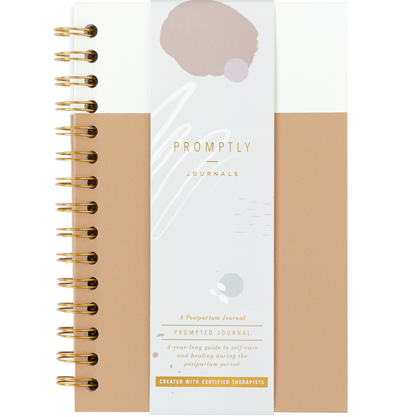 Postpartum Journals - Cashew