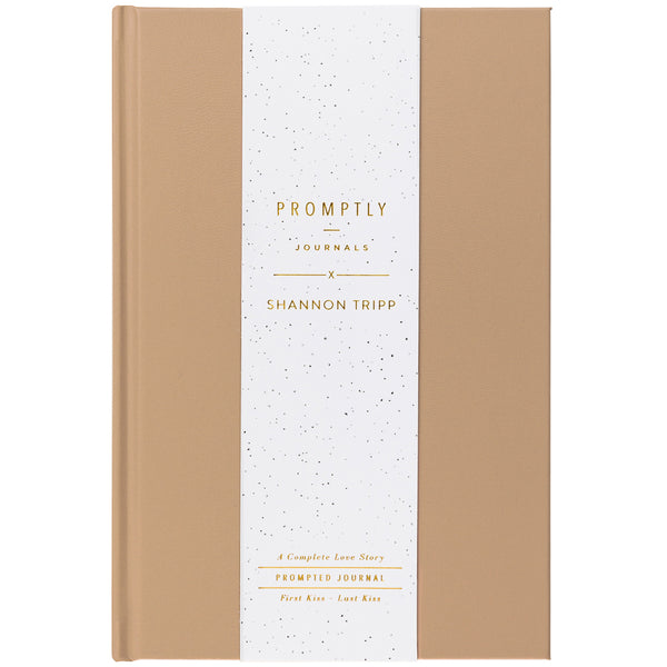 Love Story Journal - Cashew - Shannon Tripp X Promptly Journals