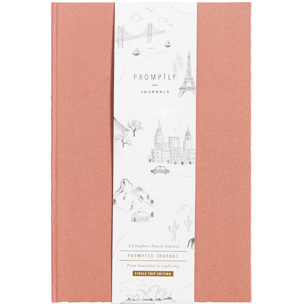 Travel Journals - Dusty Rose