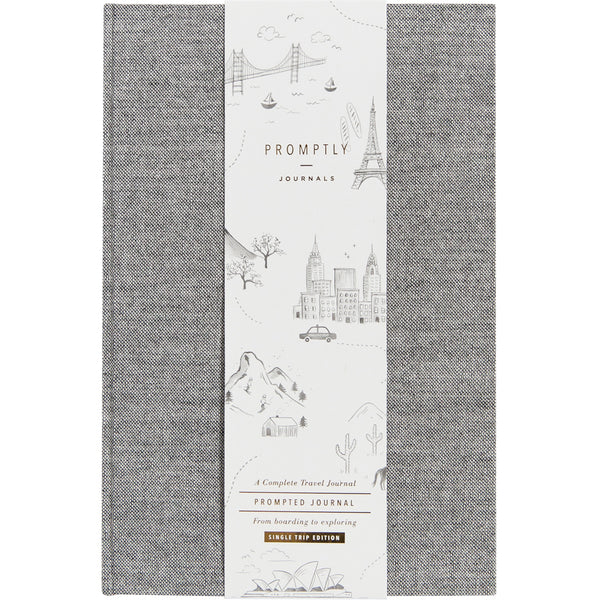 Travel Journals - Grey Tweed