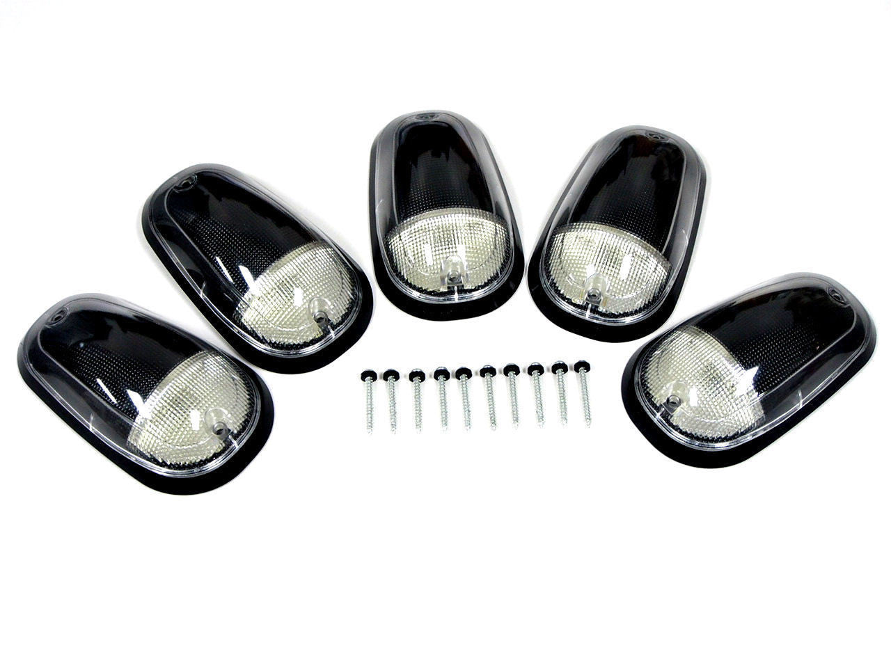 Lighting Vms Racing Dodge Cab Light Wiring Harness 03 16 Ram 2500 3500 Amber Led Clear Roof Lights 5 Piece Set