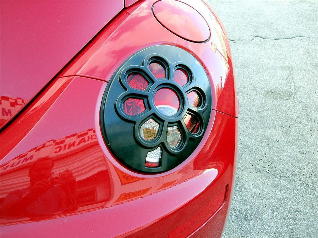 06-10 VW VOLKSWAGEN BEETLE DAISY FLOWER TAIL LIGHT COVERS 2 PIECES   VMS Racing