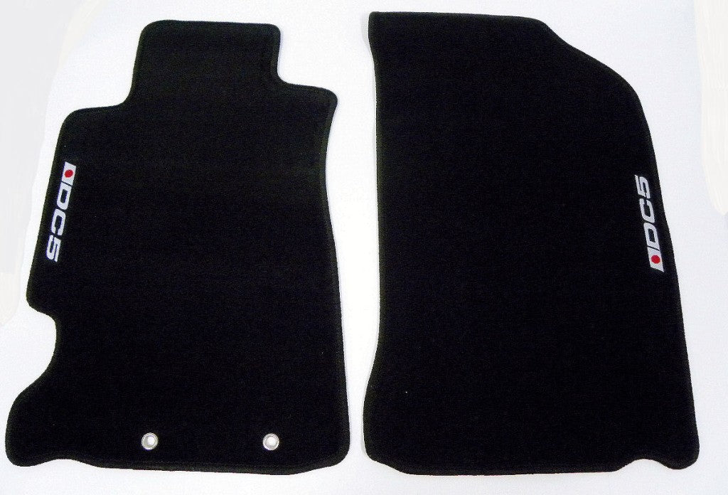 Custom Fit Floor Mats 02 06 Acura Rsx Dc5 Logo Colors Black Or Red Vms Racing