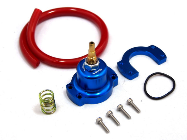 Aluminum Racing Adjustable Fuel Regulator Riser Gauge Kit Adjustable Fuel Pressure Regulator for Honda Civic Acura Integra Honda Prelude