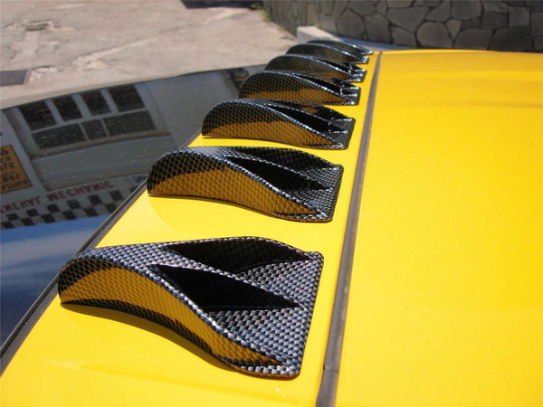 Vortex Generator NASA Roof Fin Kit Version Carbon Fiber Look  THE REAL