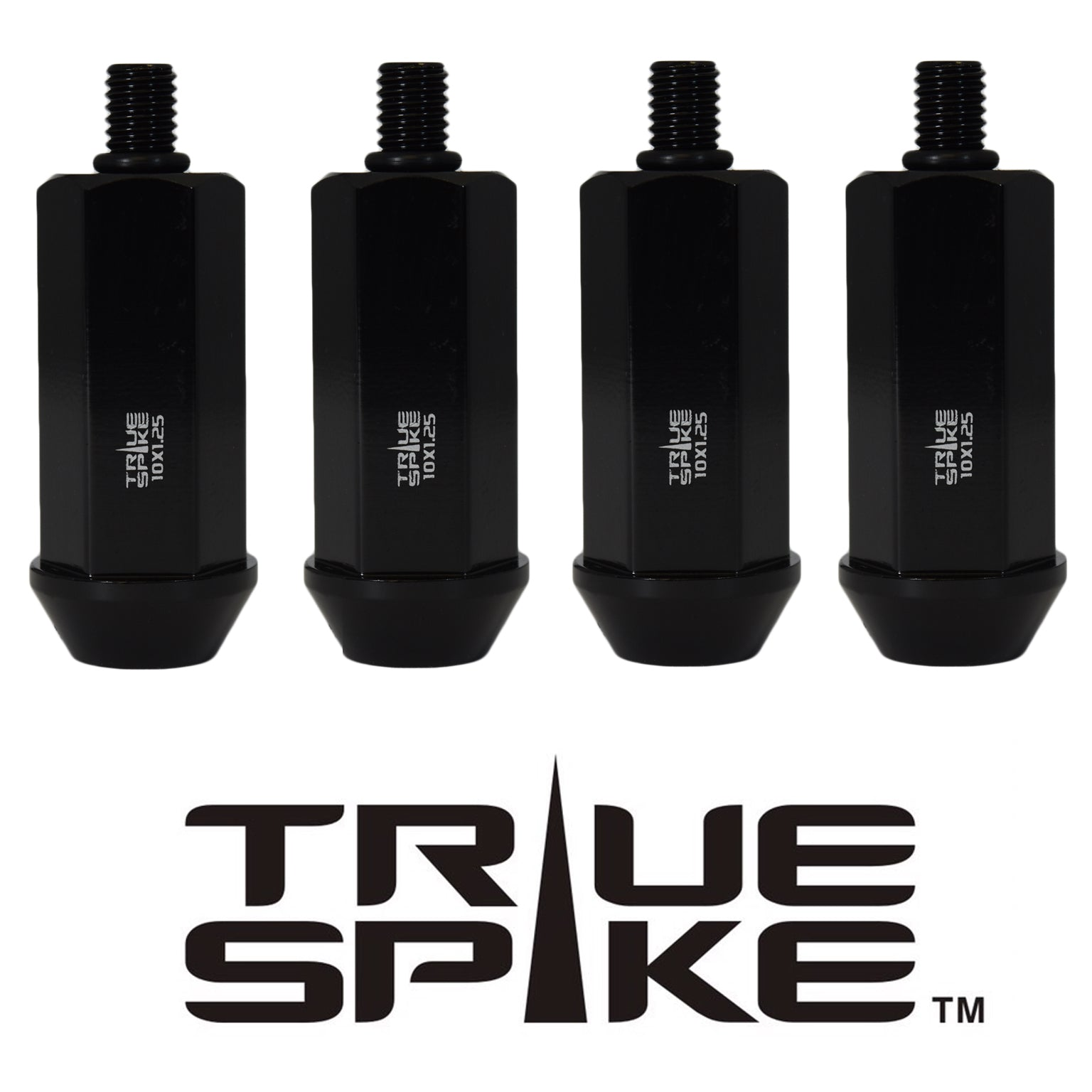 ATV/UTV TRUE SPIKE ACORN LUG NUTS CNC MACHINED FORGED STEEL 10x1.25 MM