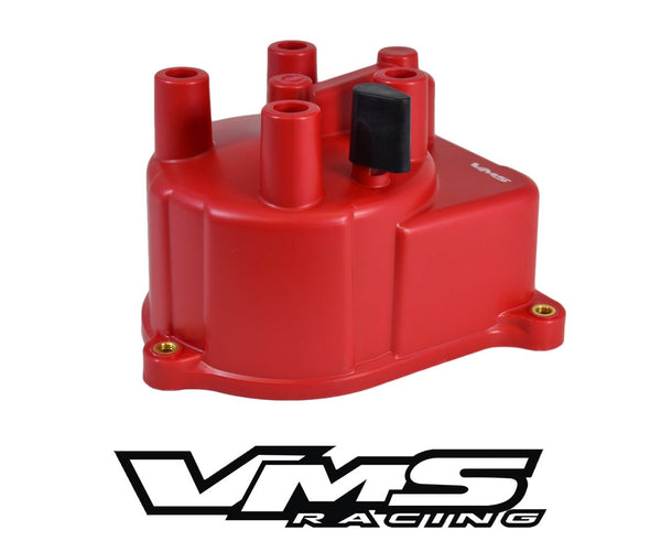 HIGH PERFORMANCE OEM REPLACEMENT RED DISTRIBUTOR CAP 94-01