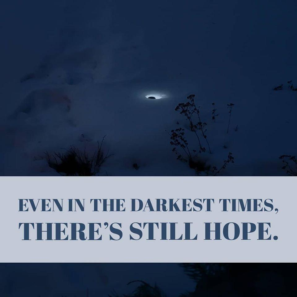 Even in the darkest times - Netties Expressions