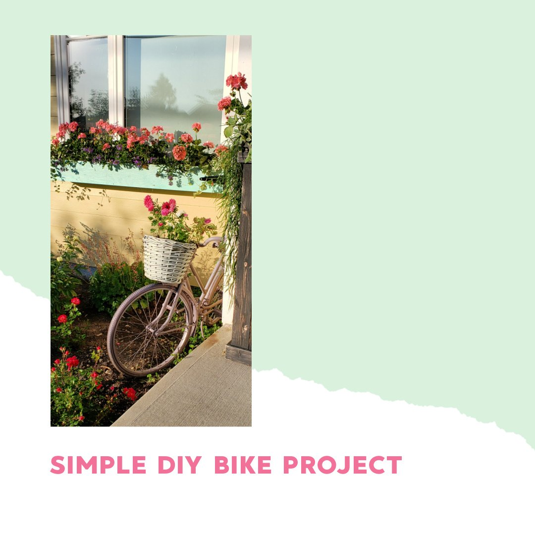 From Rusty Bike to Flower Planter - Netties Expressions