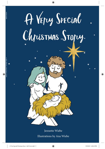 ic: A Very Special Christmas Story - children's book telling the Christmas story