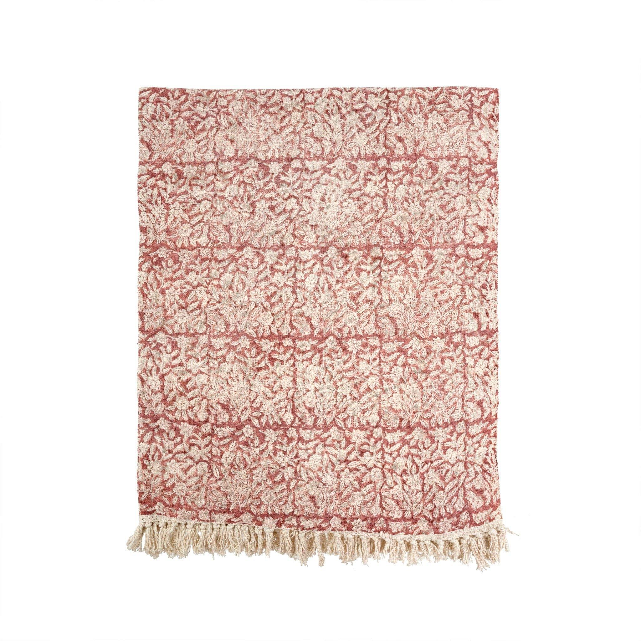 Celeste Throw Coral - Coming January 2021 - Netties Expressions