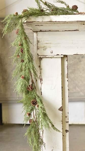 5' Winter's Warmth Garland