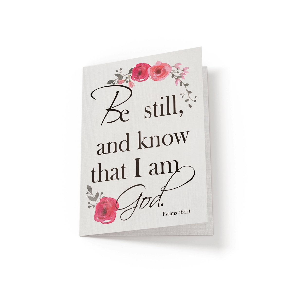 Be still and know - Greeting Card - Netties Expressions