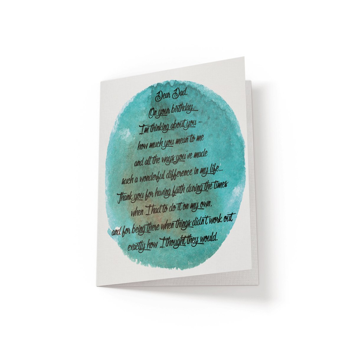 Dear Dad - Greeting Card - Netties Expressions
