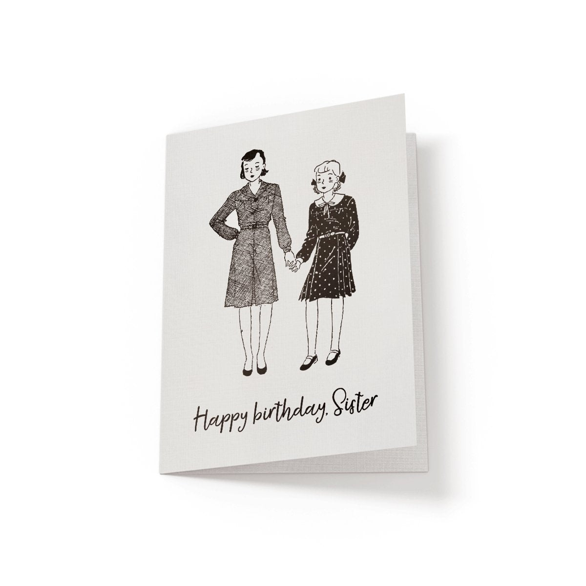 Happy Birthday, Sister - Greeting Card - Netties Expressions