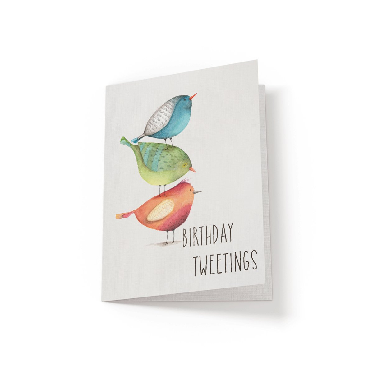 Birthday Tweetings - Greeting Card - Netties Expressions