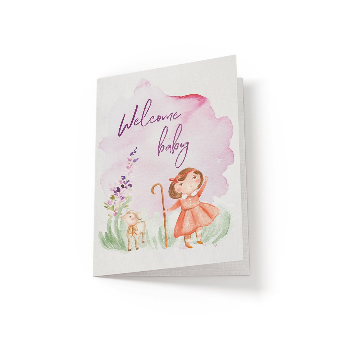 Welcome Baby - Greeting Card - Netties Expressions