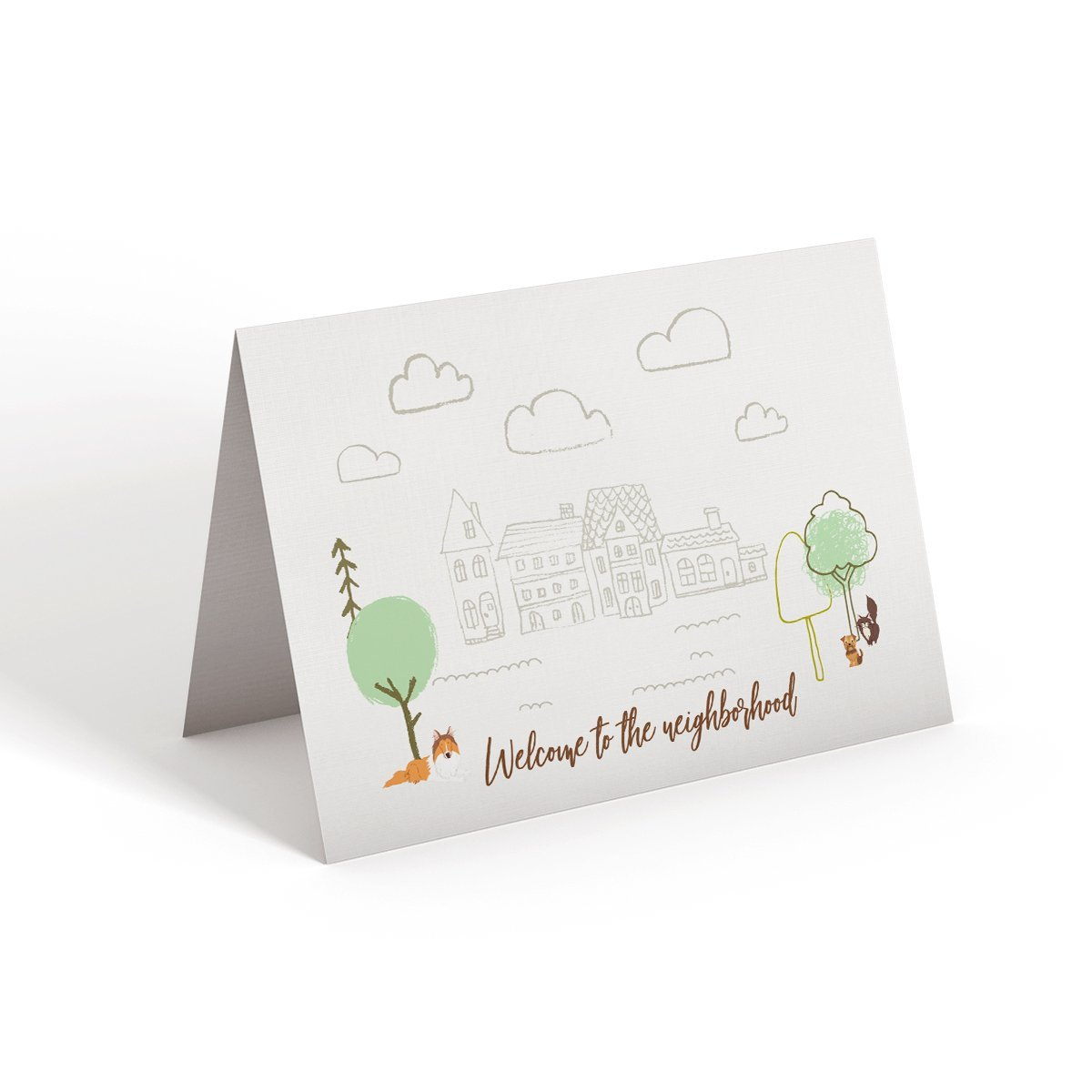Welcome to the neighborhood - Greeting Card - Netties Expressions