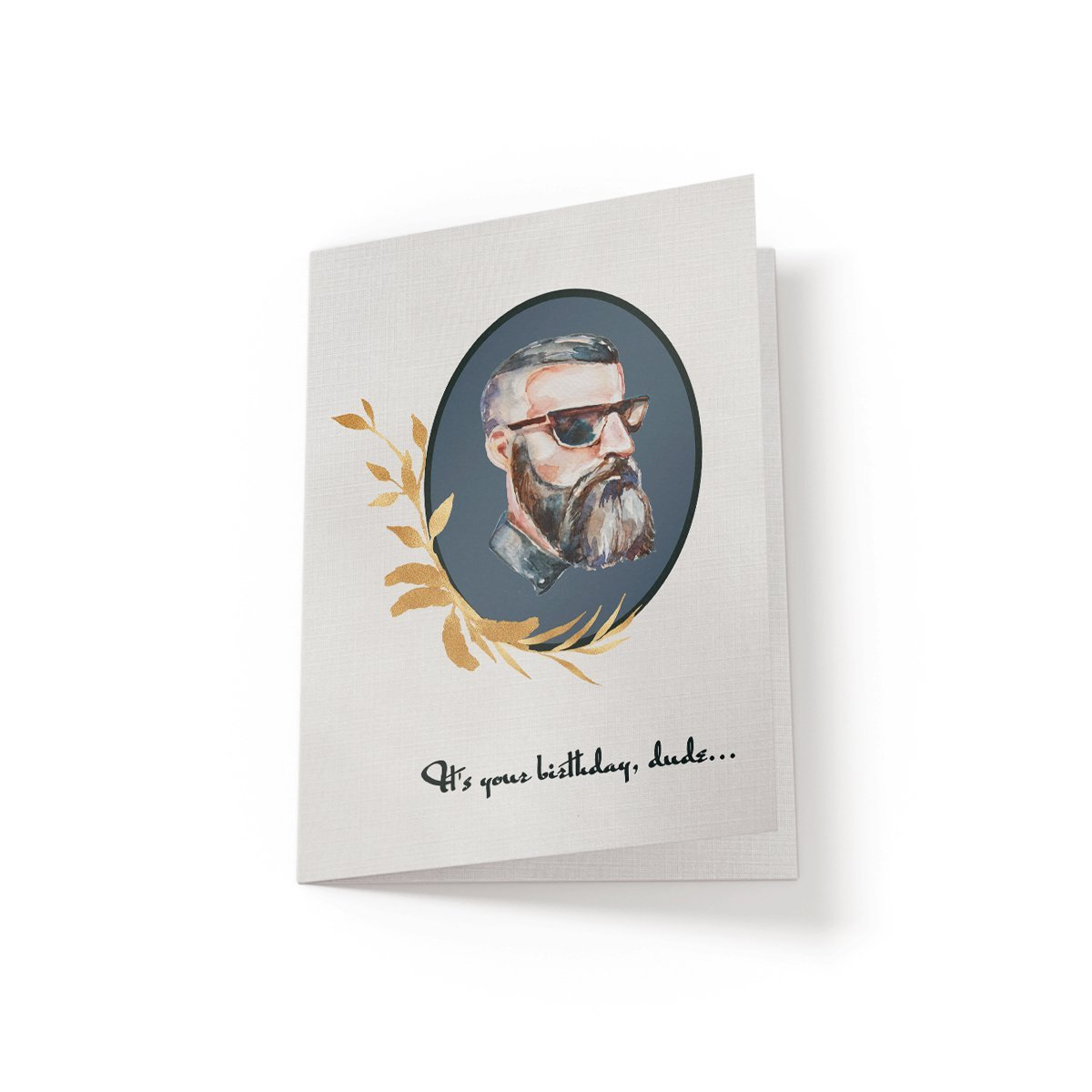 Birthday Hipster - Greeting Card - Netties Expressions