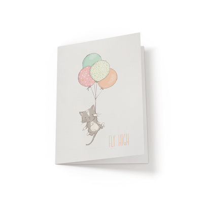 Fly High - Greeting Card