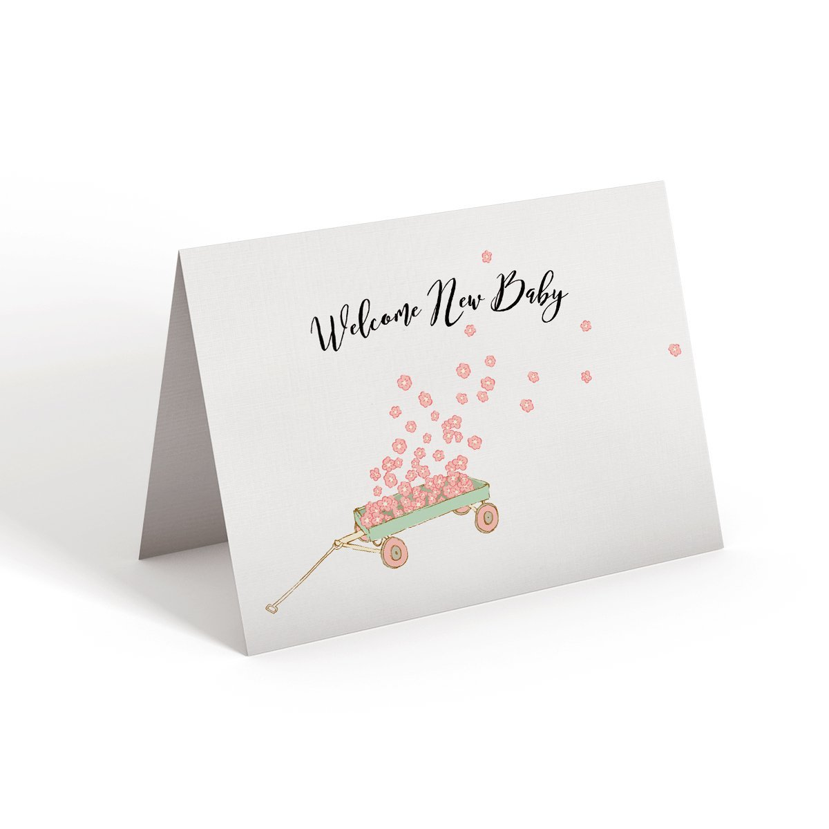 Welcome New Baby - Greeting Card - Netties Expressions