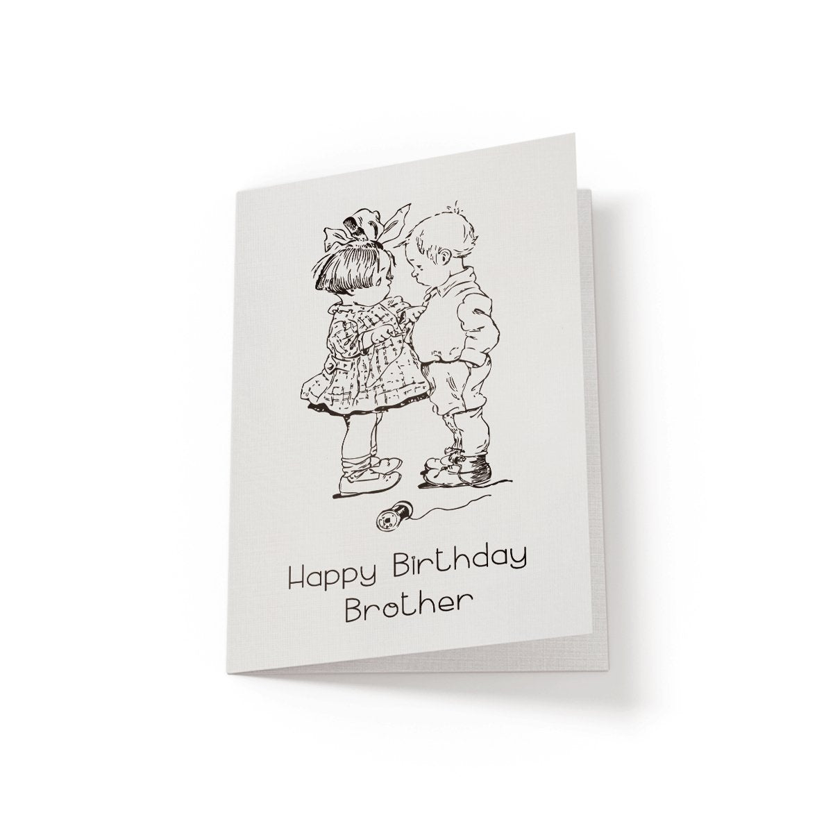 Happy Birthday Brother - Greeting Card - Netties Expressions