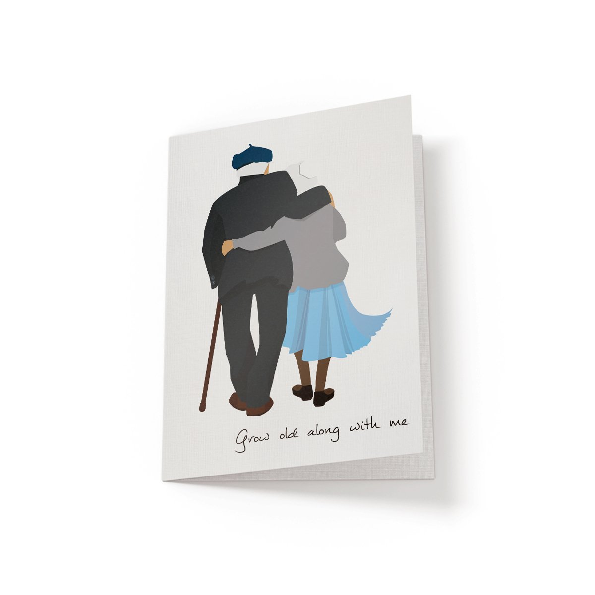 Grow old along with me - Greeting Card - Netties Expressions