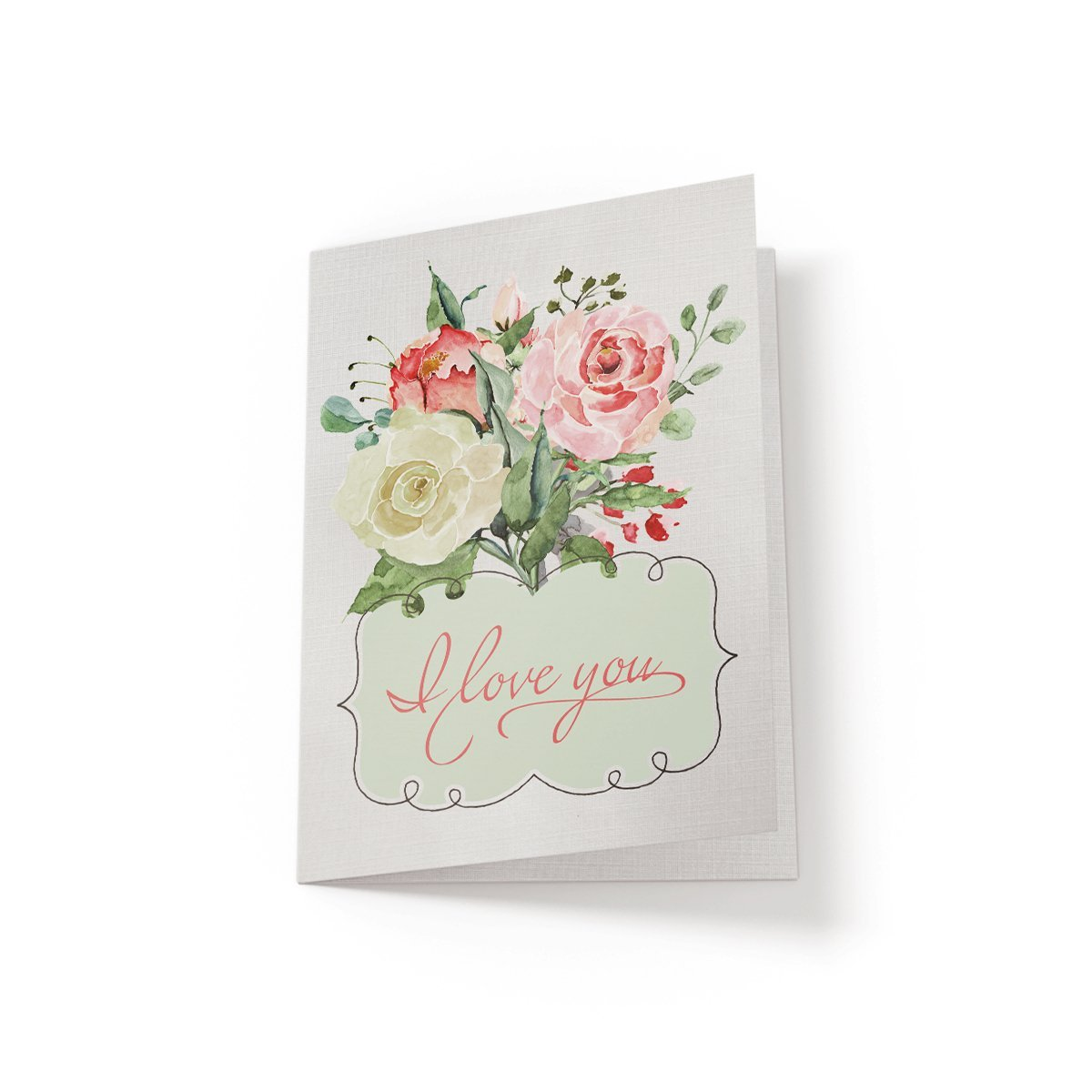 I Love You - Greeting Card - Netties Expressions