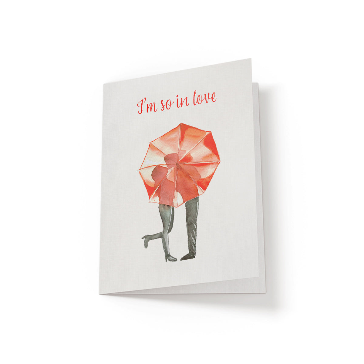 I'm so in love - Greeting Card