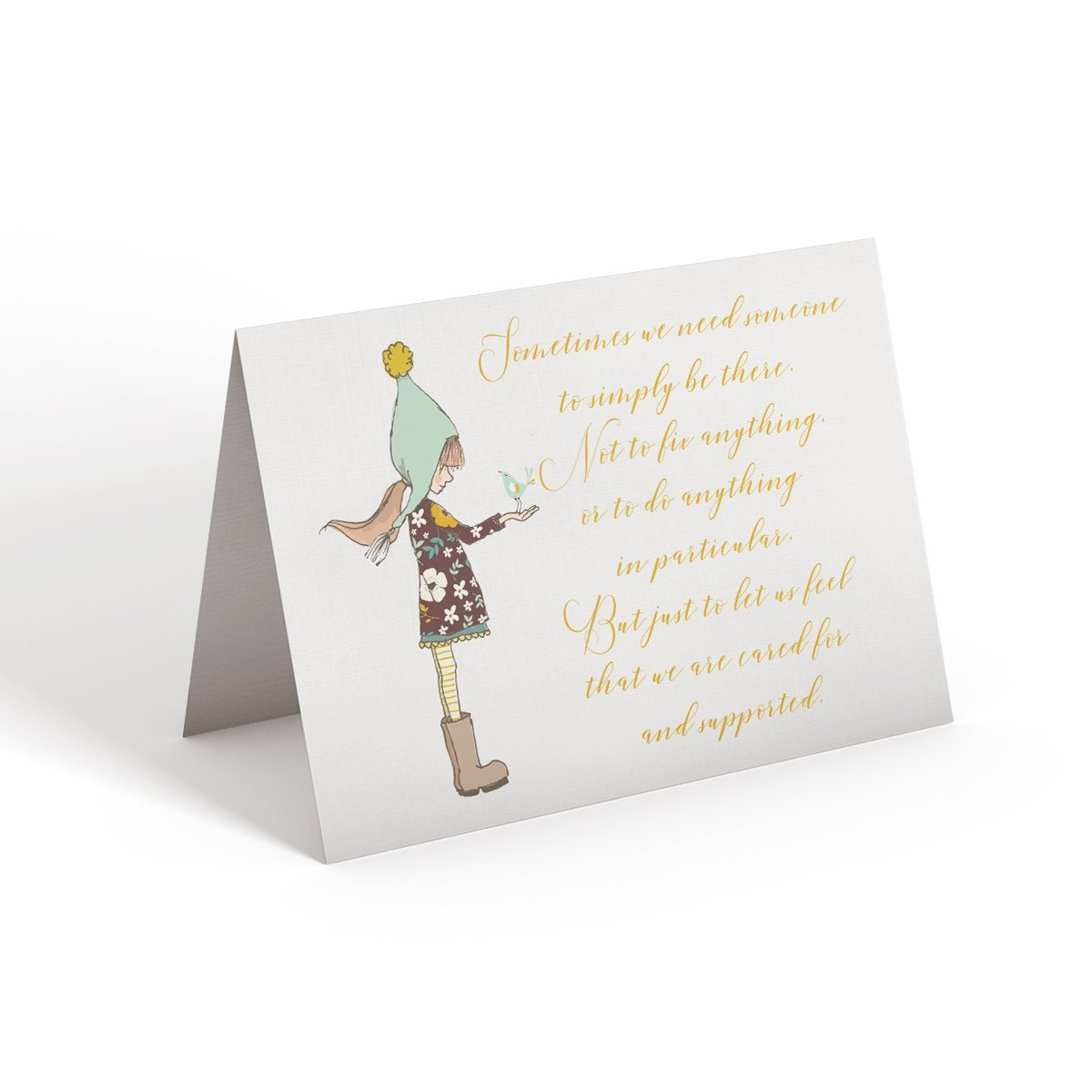 Sometimes we need someone - Greeting Card - Netties Expressions