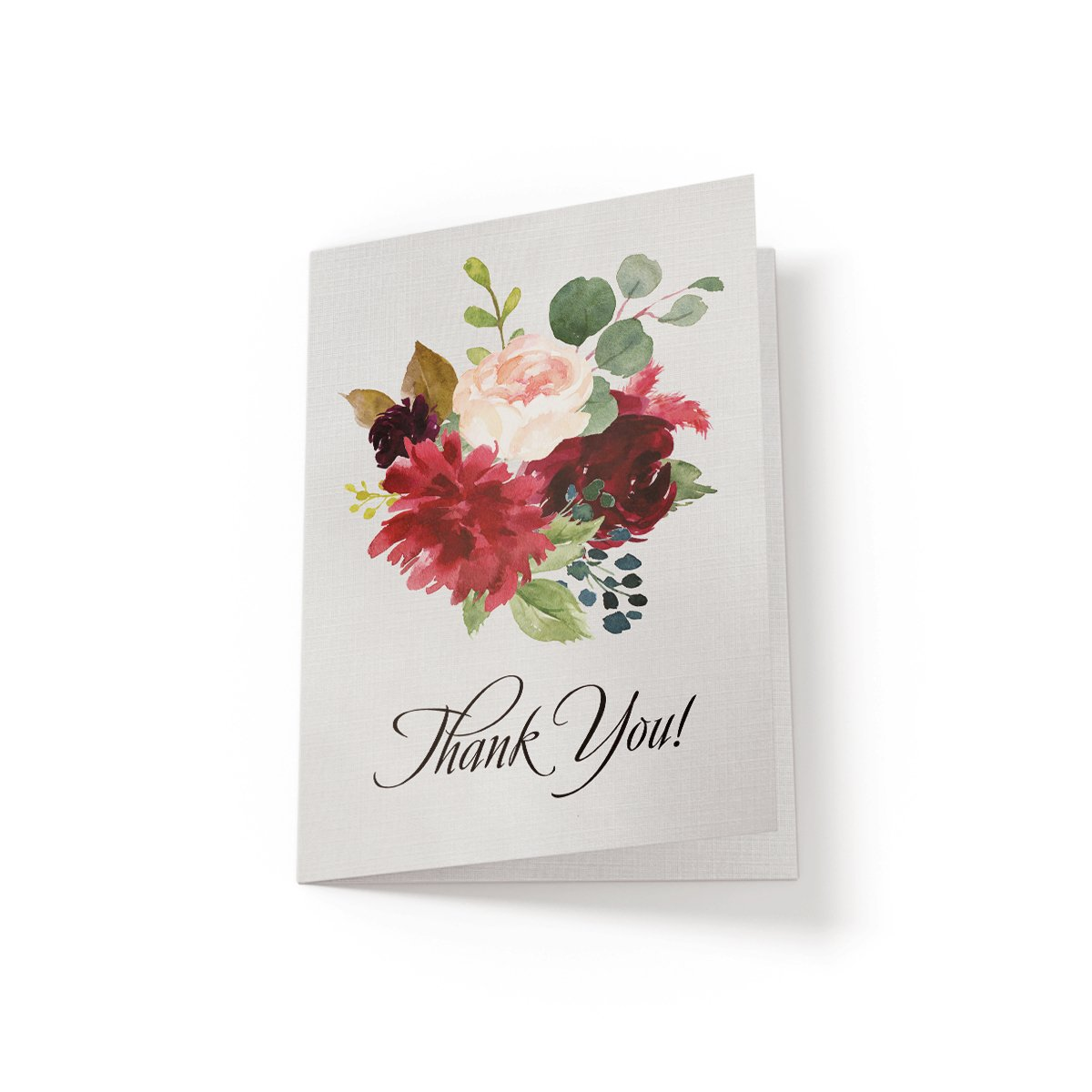 Floral Thank You - Greeting Card - Netties Expressions