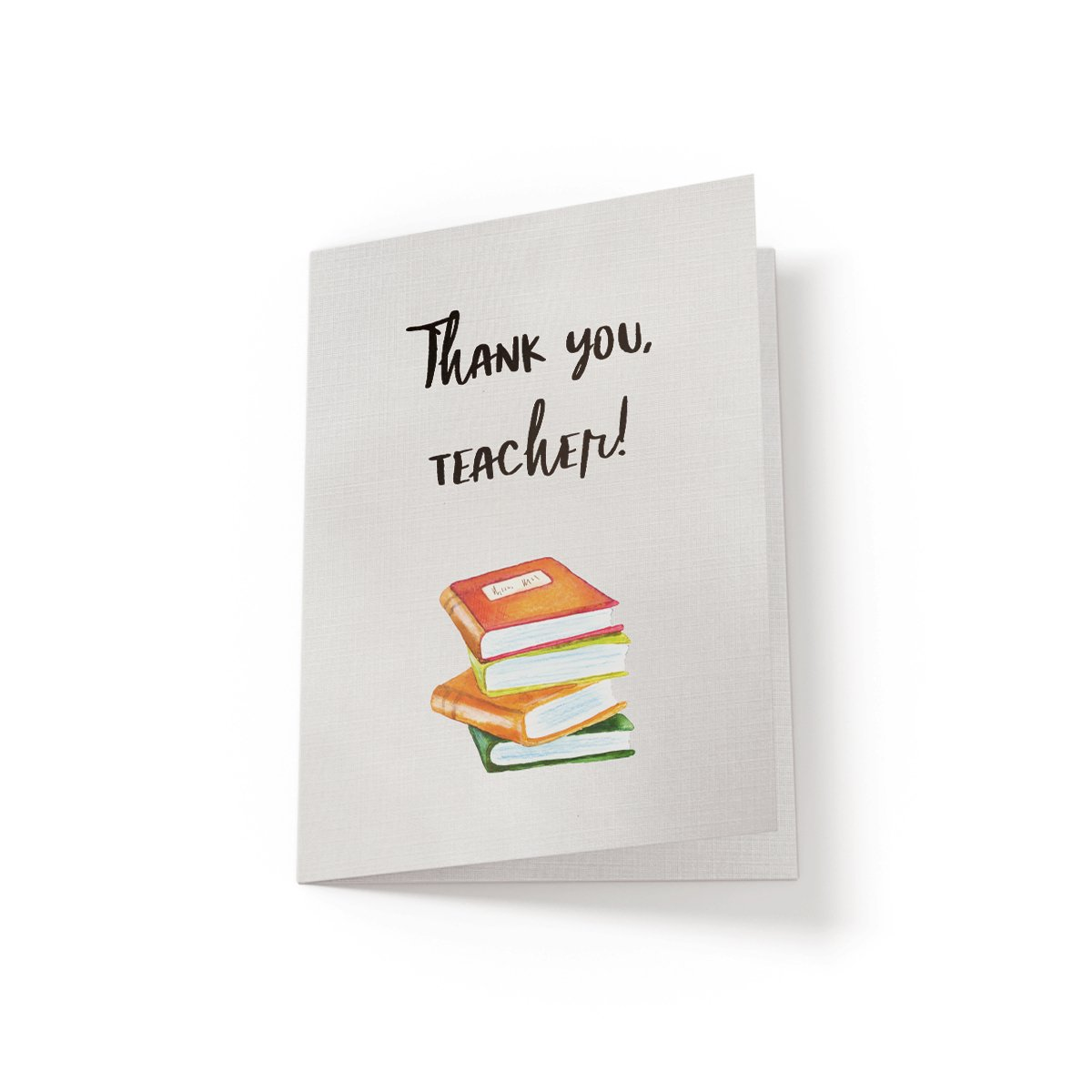 Thank You, Teacher - Greeting Card - Netties Expressions