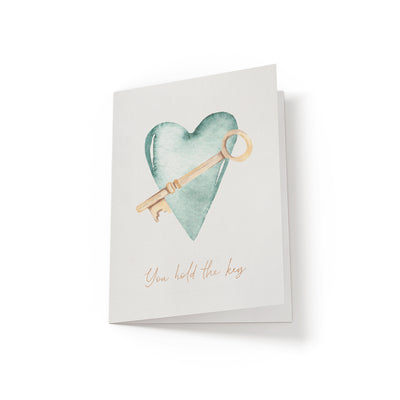 You hold the key - Greeting Card