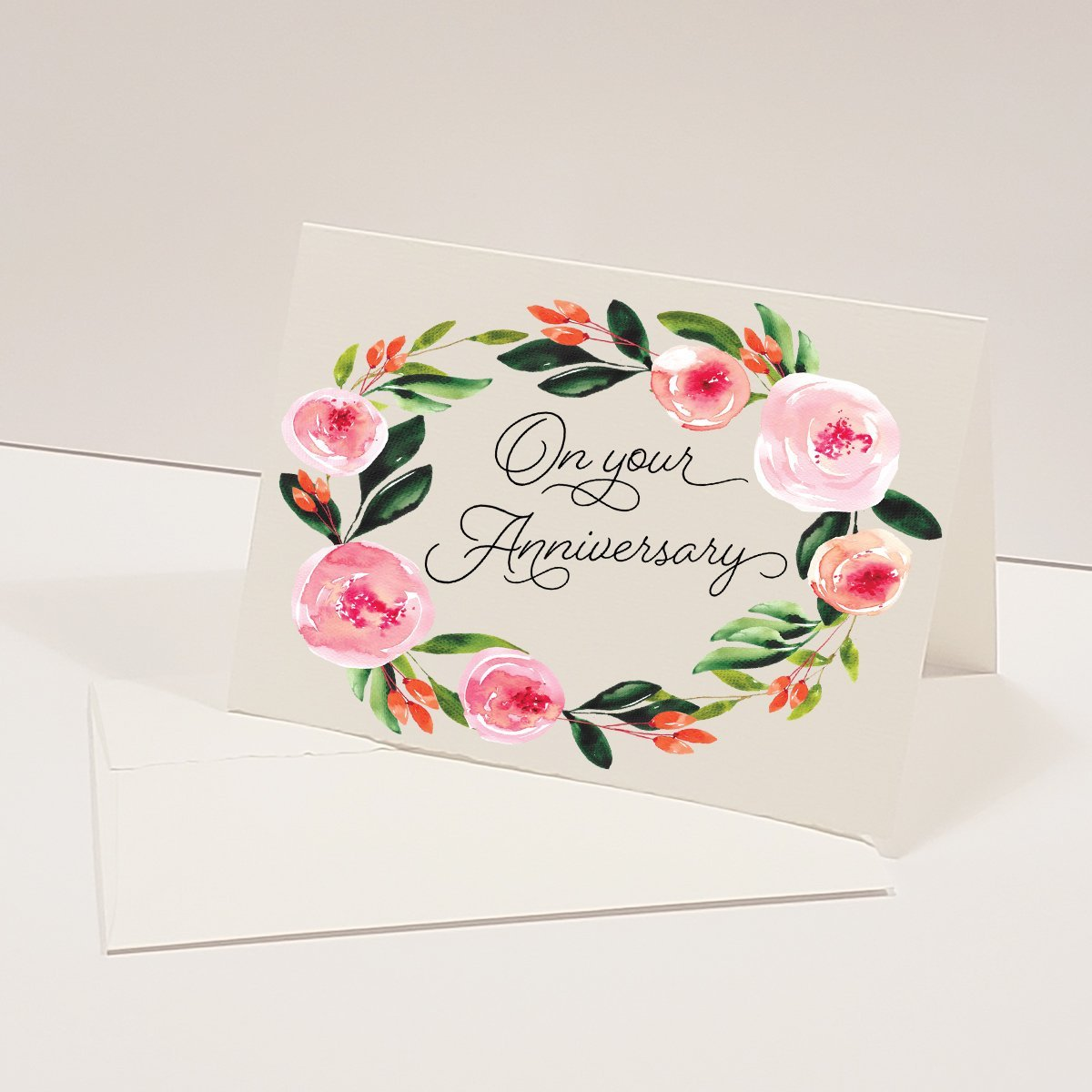 On Your Anniversary - Greeting Card - Netties Expressions