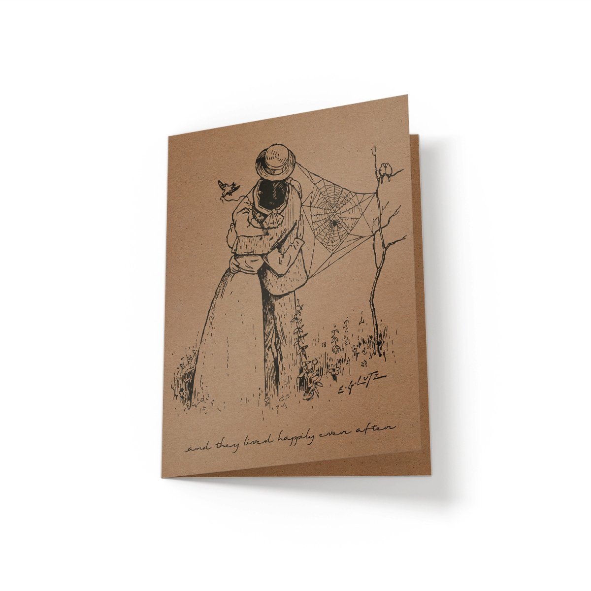 And they lived happily ever after - Greeting Card - Netties Expressions