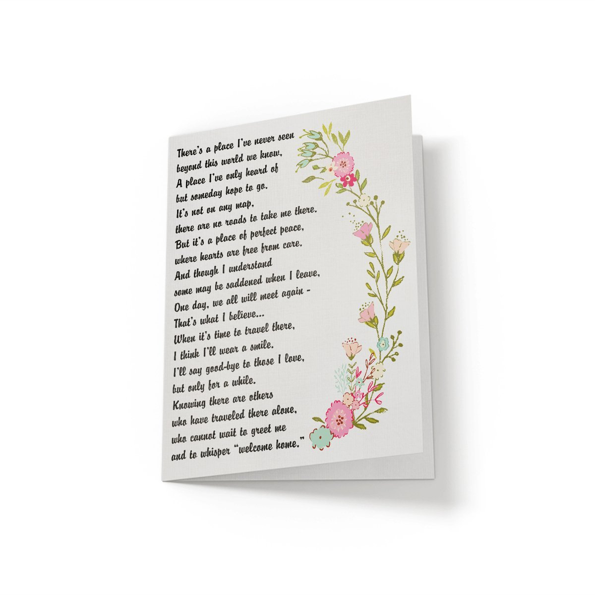 There's a better place - Greeting Card - Netties Expressions