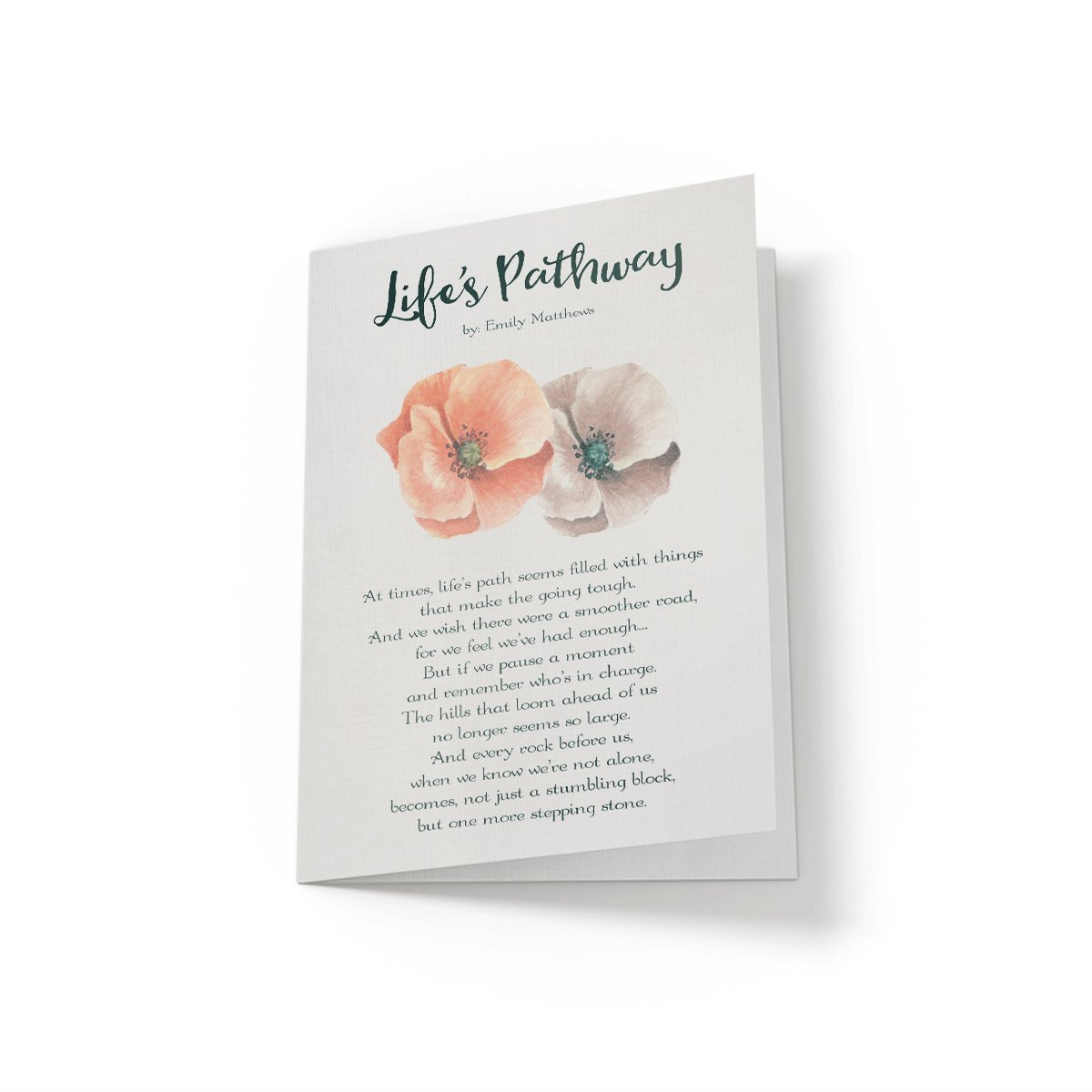 Life's Pathway - Greeting Card - Netties Expressions