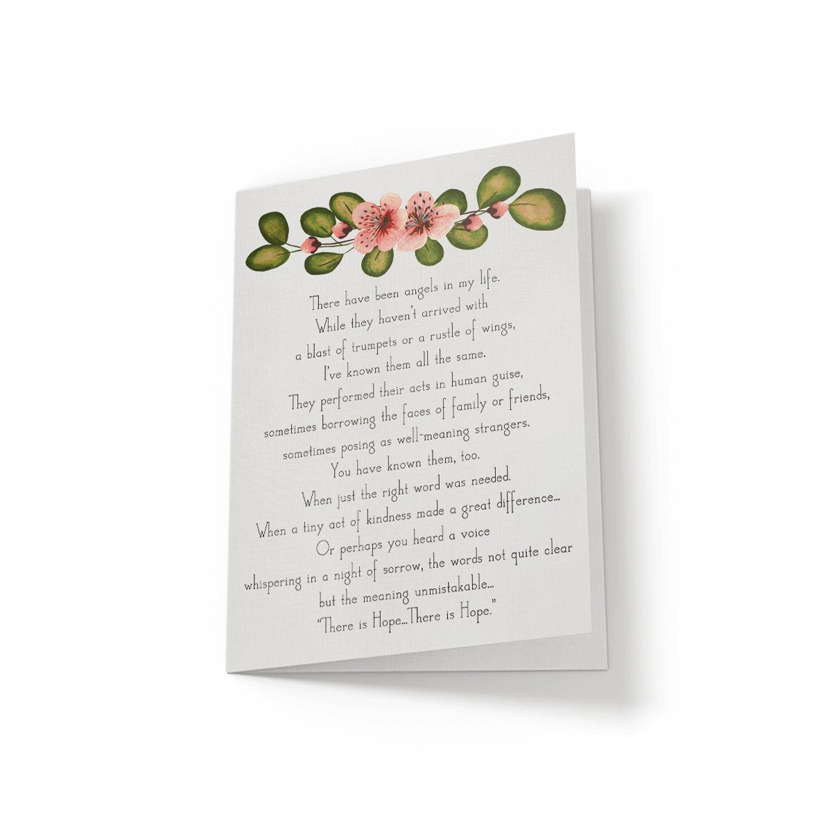 There have been angels in my life - Greeting Card - Netties Expressions