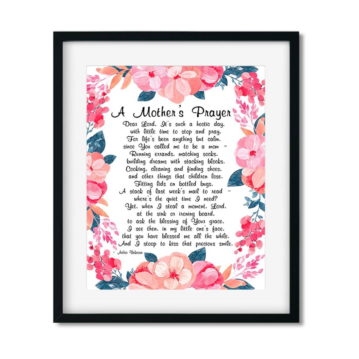 A Mother's Prayer - Art Print - Netties Expressions