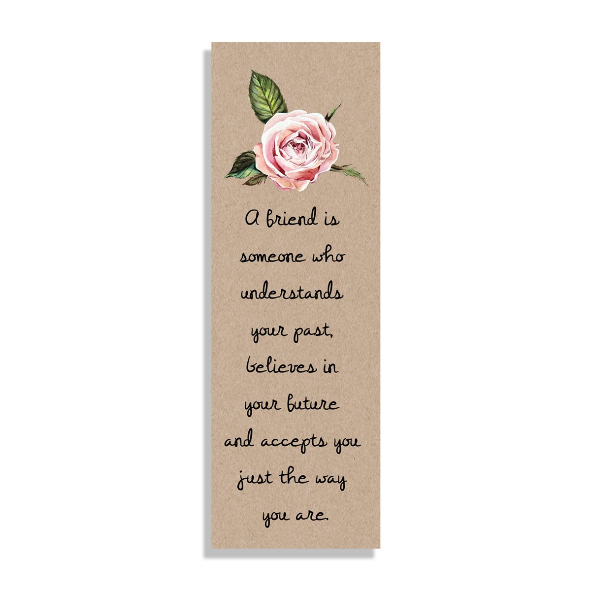 A friend is - Bookmark - Netties Expressions